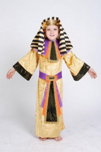 Disfraz de Egipcio infantil talla 3 a 5 años, talla 1