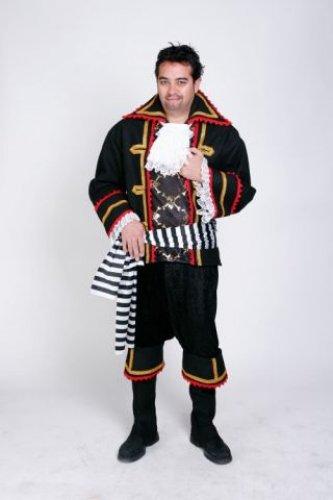 Disfraz de Pirata Negro adulto