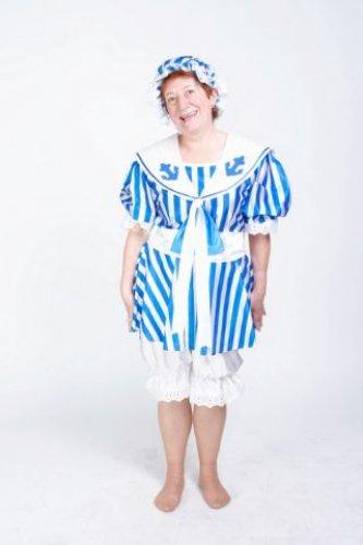 Disfraz de Bañista mujer adulta