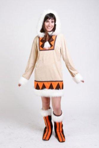Disfraz de Esquimal mujer adulta