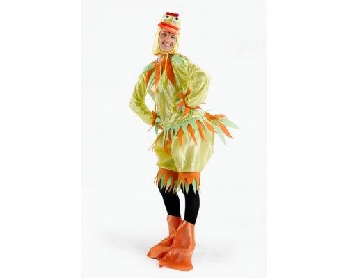 Disfraz de patita amarillo, mujer Talla 2 (M-L)
