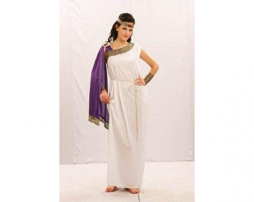 Disfraz de Romana adulta Económico