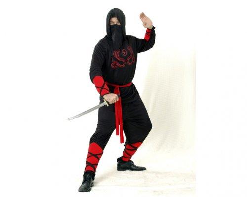 Disfraz de Ninja Cobra Adulto Económico