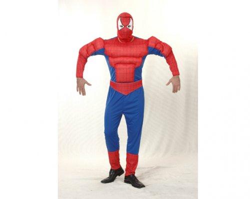 Disfraz de Araña Musculosa Adulto Económico