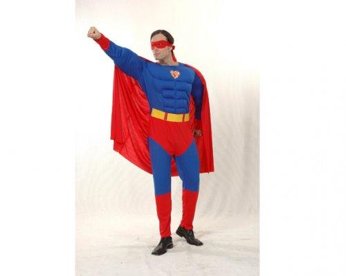 Disfraz de Héroe Musculoso Adulto Económico