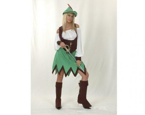 Disfraz de Robin Hood Mujer Adulto Económico
