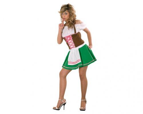 Disfraz de Tirolesa Sexy Adulto Económico
