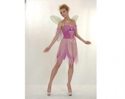 Disfraz de Hada Púrpura Adulto Económico