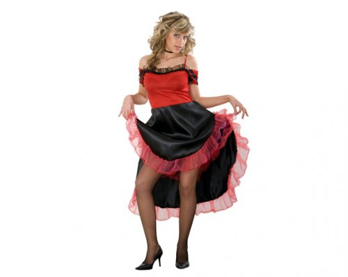 Disfraz de Mouline Rouge Adulto Económico
