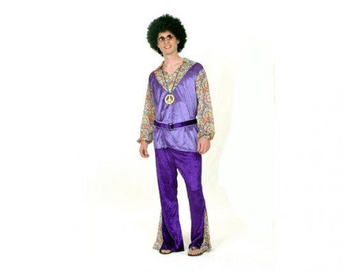 Disfraz de Hippie Hombre Adulto Económico