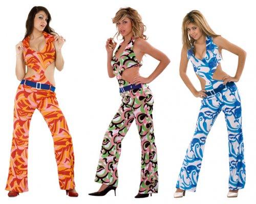 Disfraz de Mujer Años 70 Adulto Económico
