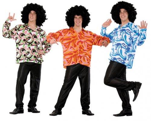Disfraz de Camisa Años 70 Adulto Económico