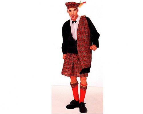 Disfraz de Escocés hombre económico