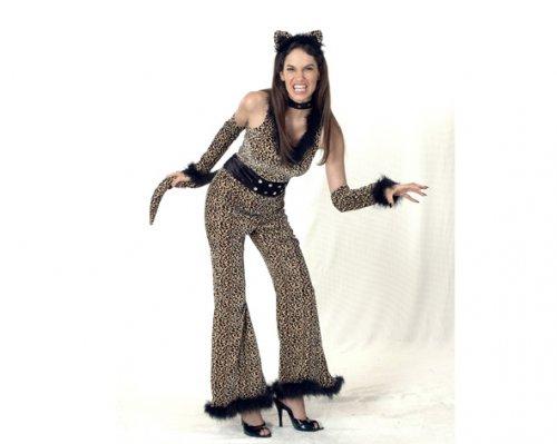 Disfraz de Mujer Leopardo económico