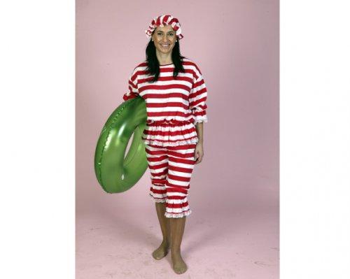 Disfraz de Bañista mujer económico