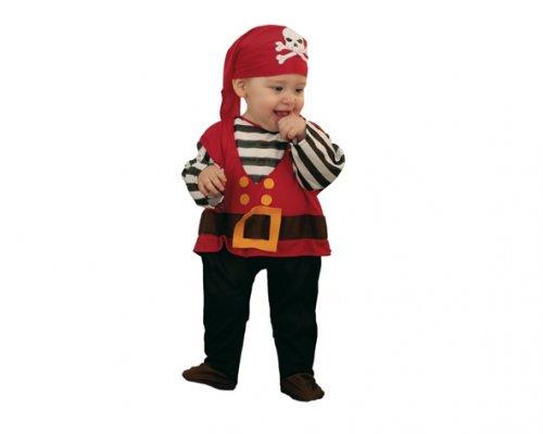 Disfraz de Pirata bebé niño 6-12 meses económico