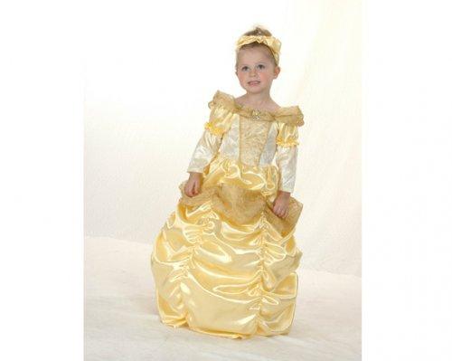 Disfraz de Princesa Bella 2-4 años económico