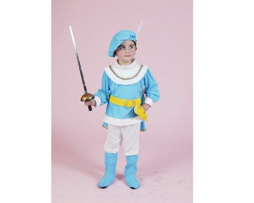Disfraz de Príncipe Azul 2-4 años económico