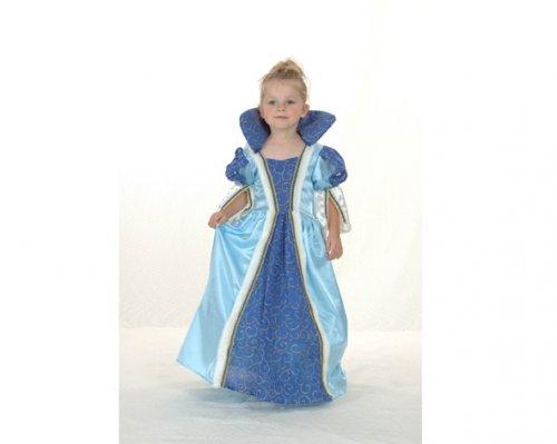 Disfraz de Princesa Azul 2-4 años económico