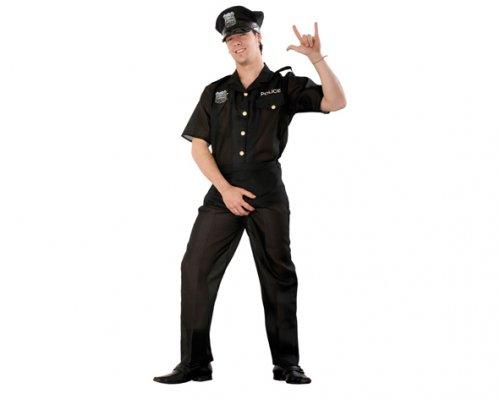 Disfraz de Policía Adulto Económico