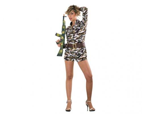 Disfraz de Camuflaje Sexy Adulto Económico