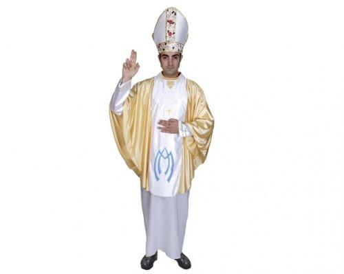 Disfraz de Obispo Adulto Económico