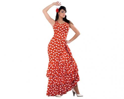 Disfraz de Flamenca Adulto Económico