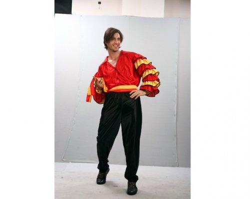 Disfraz de Bailaor Flamenco Adulto Económico