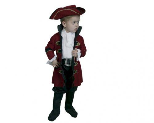 Disfraz de Rey Pirata 2-4 Años Económico