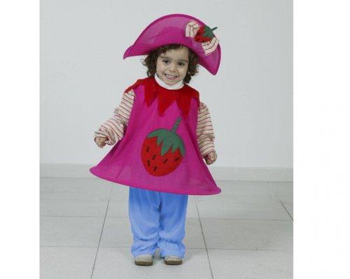 Disfraz de Muñeca De Fresa 2-4 Años Económico