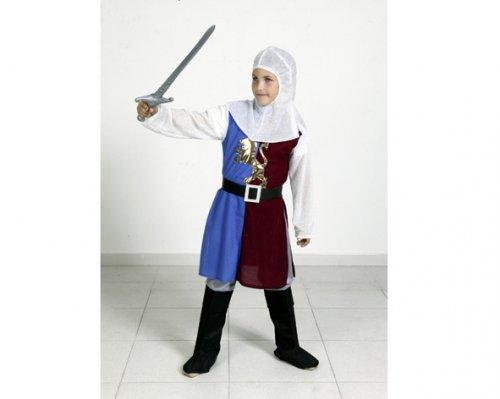 Disfraz de Caballero Medieval 10-12 Años Económico