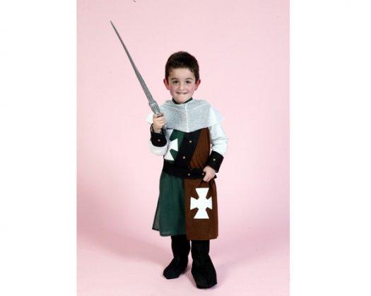 Disfraz de Caballero Medieval 4-6 Años Económico
