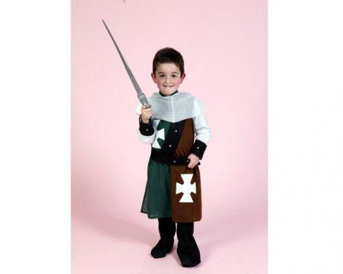Disfraz de Caballero Medieval 7-9 Años Económico