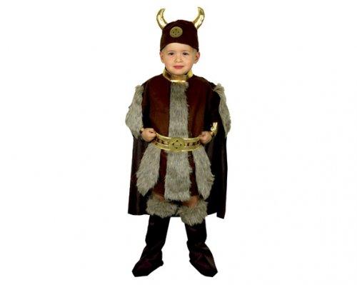 Disfraz de Vikingo 7-9 Años Económico