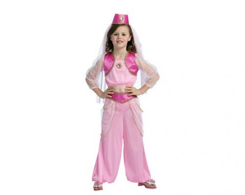 Disfraz de Princesa Árabe 7-9 Años Económico