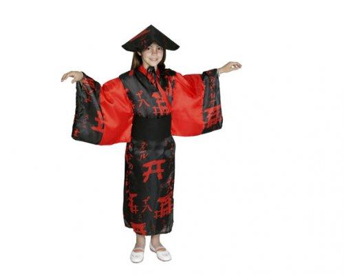 Disfraz de China negro 4-6 años económico