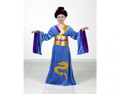 Disfraz de Japonesa Dragón 7-9 años económico