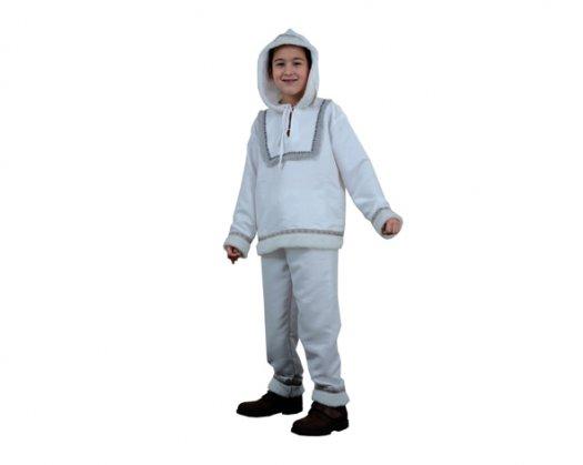 Disfraz de Esquimal niño 4-6 años económico
