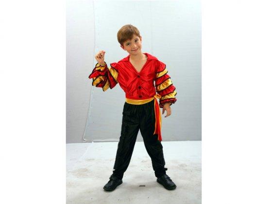 Disfraz de Bailarin de Rumba 7-9 años económico