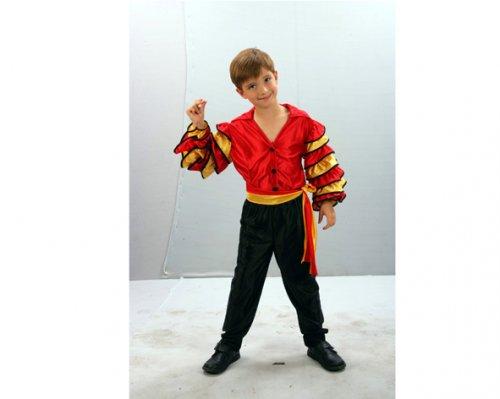 Disfraz de bailarin de rumba niÑos 10-12