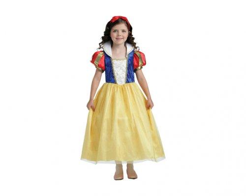 Disfraz de Blancanieves 7-9 años económico