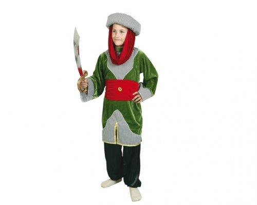 Disfraz de Principe Árabe 7-9 Años Económico