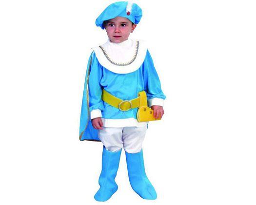 Disfraz de principe azul Talla 1 (3 – 4 años)