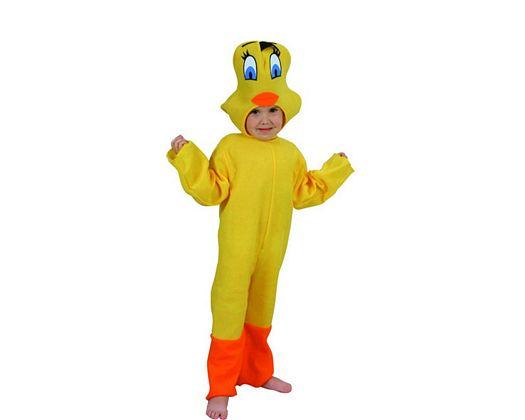 Disfraz de canario 3-4 años