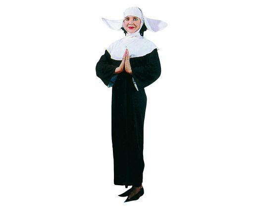 Disfraz de monja adulto mujer
