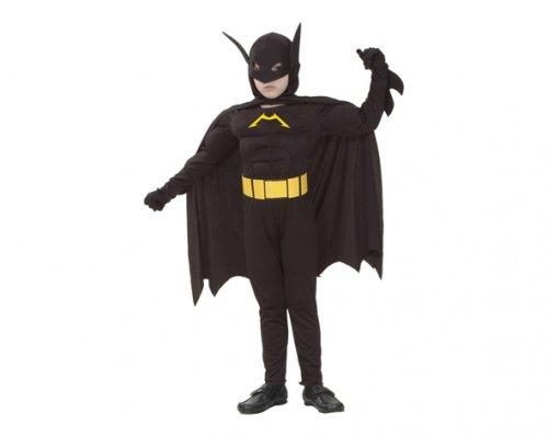 Disfraz de Murciélago Musculoso 7-9 Años Económico
