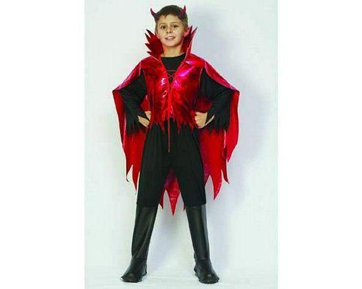 Disfraz demonio lucifer niÑos 4-6 aÑos