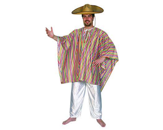 Disfraz de mejicano adulto Talla 2 (M-L)