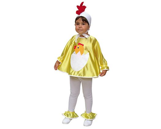 Disfraz de pollito infantil 3-4 años