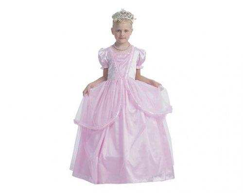 Disfraz de Princesa Luminosa Rosa 7-9 años económico